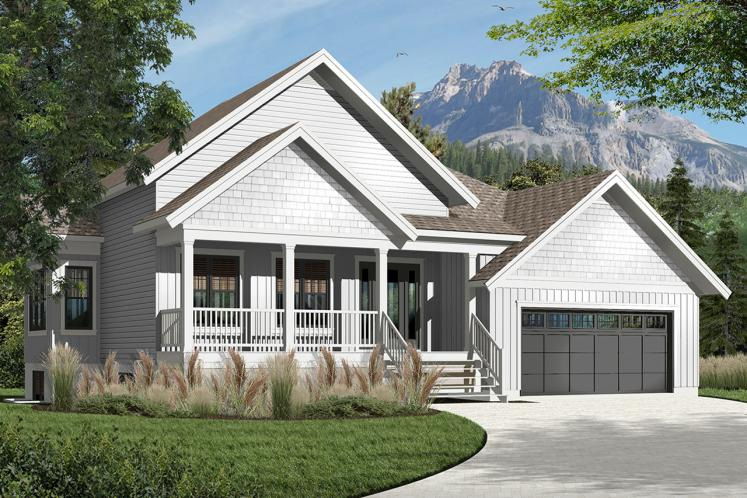 Farmhouse House Plan - Jackson 2 60079 - Front Exterior