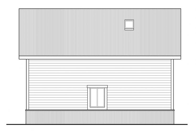 Country Garage Plan -  39367 - Left Exterior
