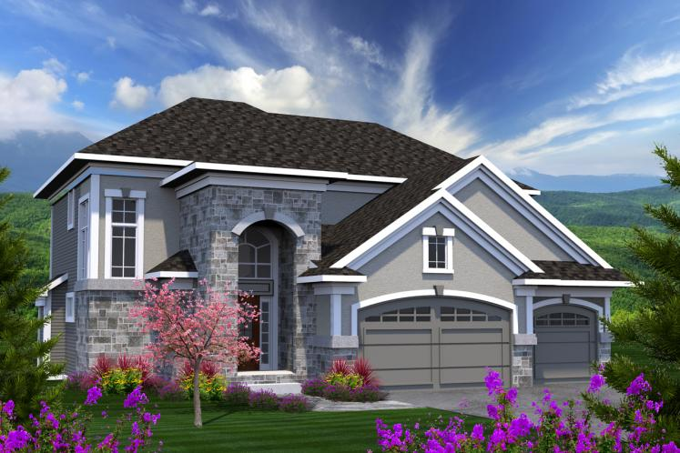 Traditional House Plan -  60120 - Front Exterior