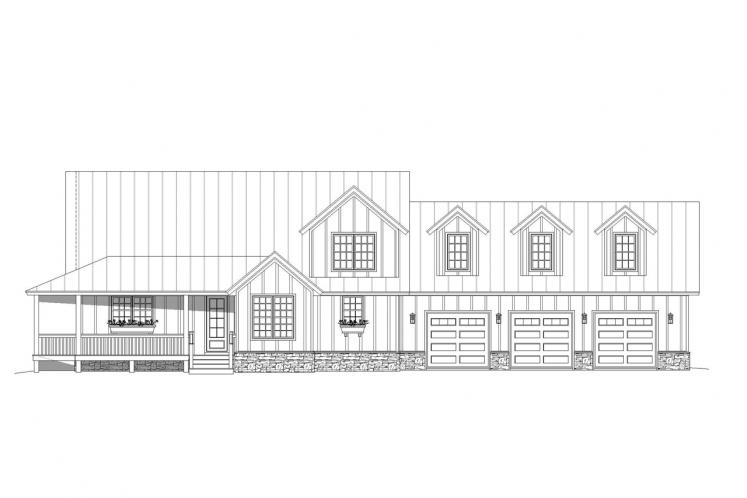 Traditional House Plan - Mohawk 60181 - Front Exterior