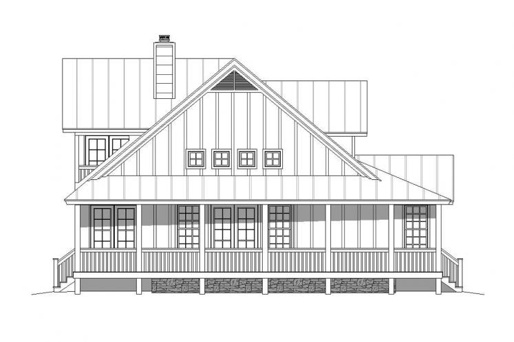 Country House Plan - Mohawk 60181 - Left Exterior