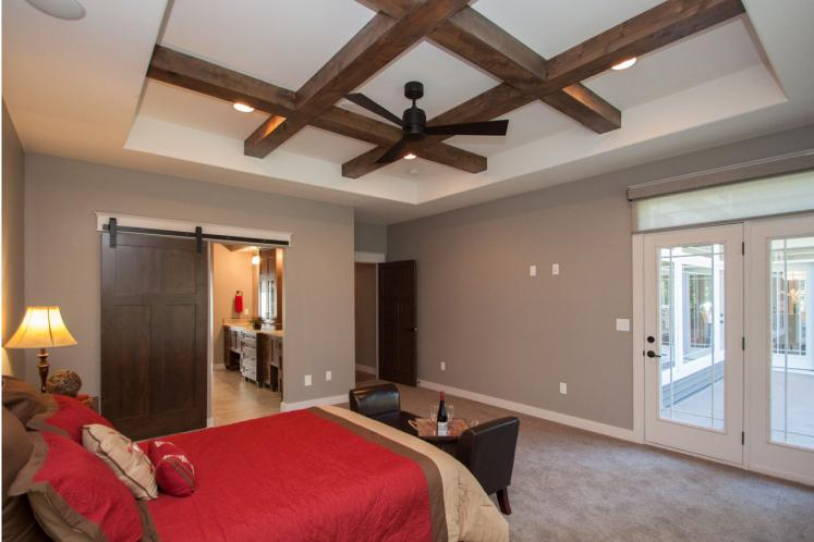 Country House Plan -  60388 - Master Bedroom