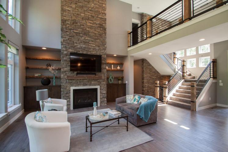 Country House Plan -  60388 - Great Room