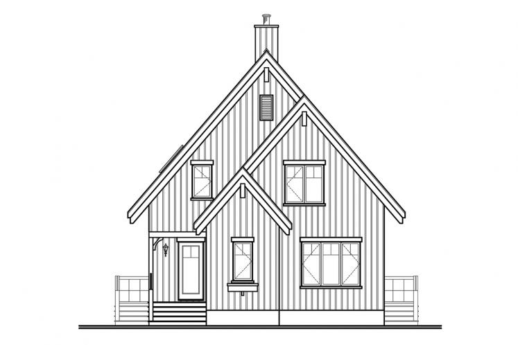 Country House Plan - The Skylark 60635 - Front Exterior