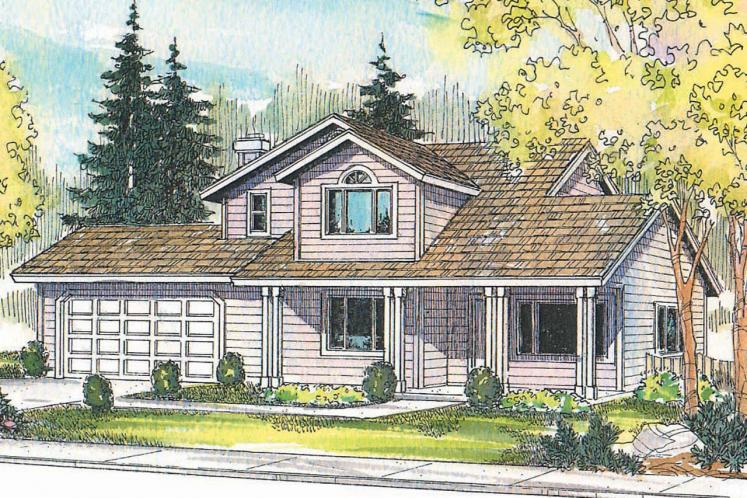 Country House Plan - Jennings 60765 - Front Exterior