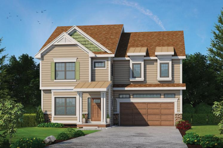Traditional House Plan - Ames 60993 - Front Exterior