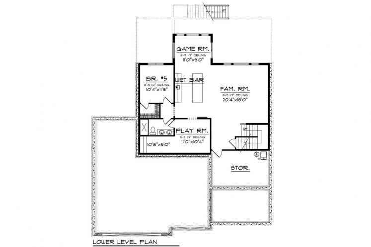 Traditional House Plan -  61452 - Other Floor Plan
