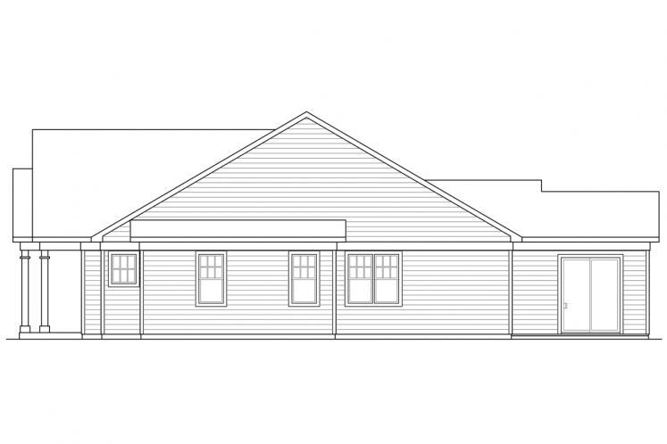 Cottage House Plan - Westcliff 61563 - Right Exterior