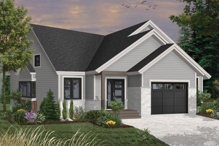 Country House Plan - Silverwood 61590 - Front Exterior