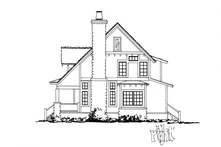 Country House Plan - Aspen Grove 61931 - Right Exterior