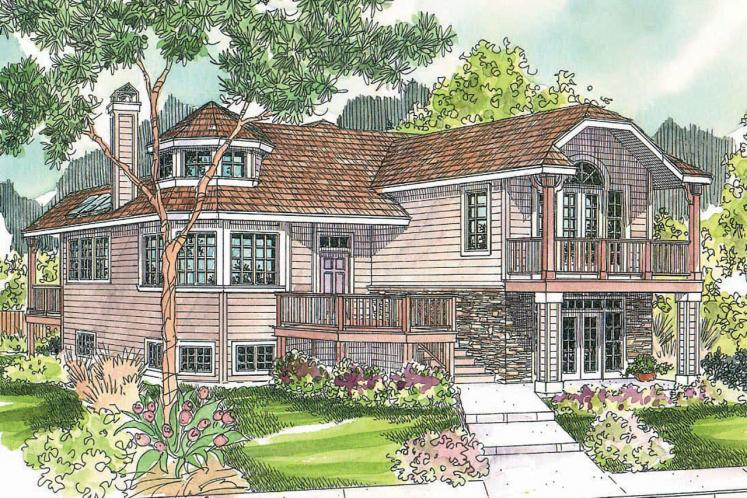 Cottage House Plan - Sherbrooke 62010 - Front Exterior