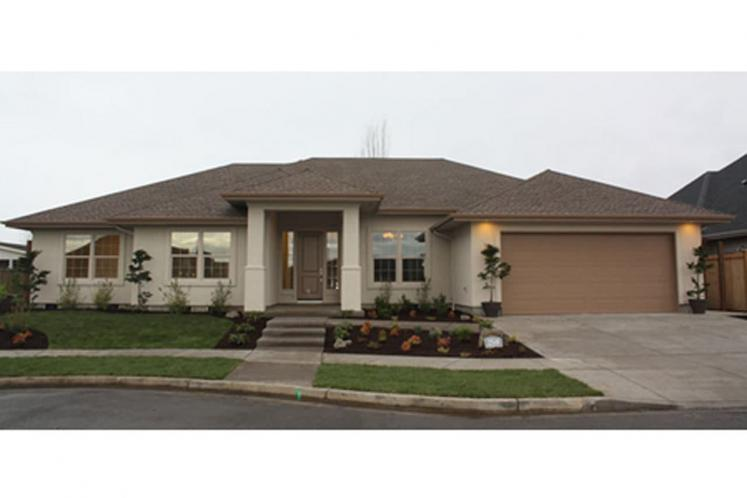 Prairie House Plan - Crownpoint 62509 - Front Exterior