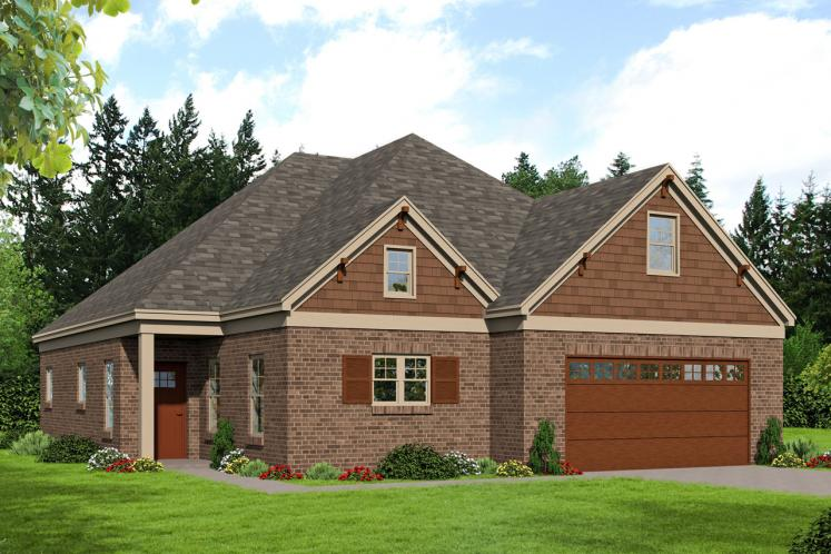 Classic House Plan -  62688 - Front Exterior