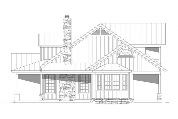 Cottage House Plan - Puu Lani Ranch 62696 - Right Exterior