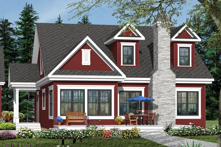 Country House Plan - Lindsay 63043 - Front Exterior