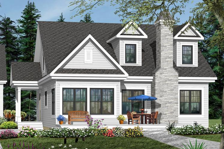 Farmhouse House Plan - Lindsay 63043 - Front Exterior