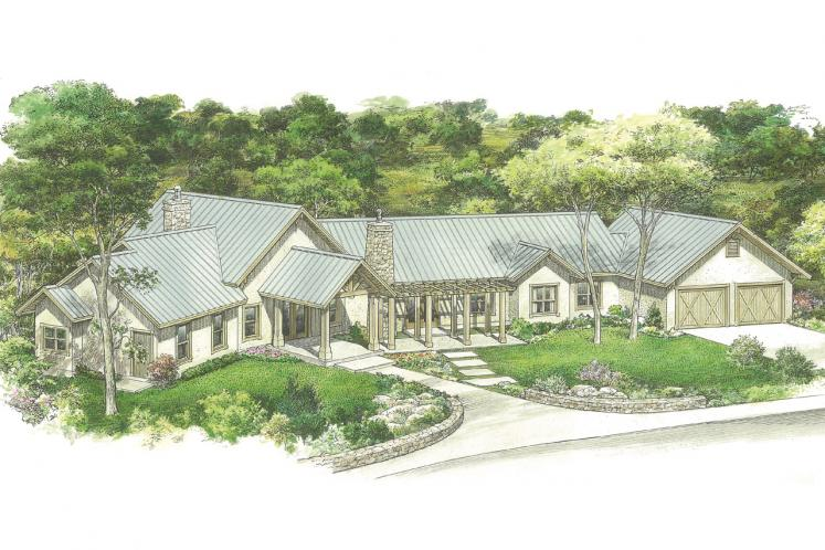 Country House Plan - McKinney 63053 - Front Exterior