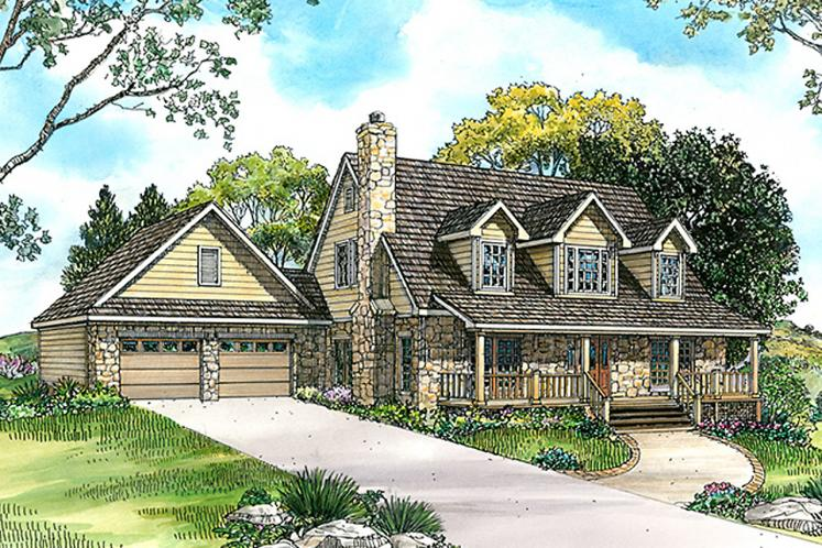 Country House Plan - Seguin 63137 - Front Exterior
