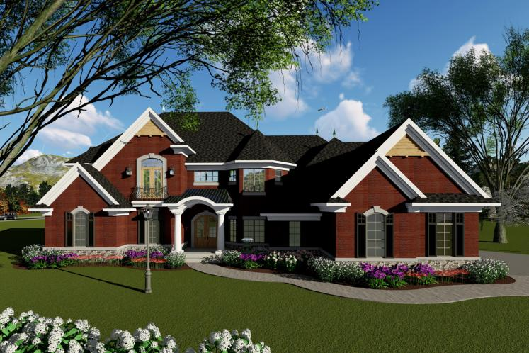 Classic House Plan -  63224 - Front Exterior