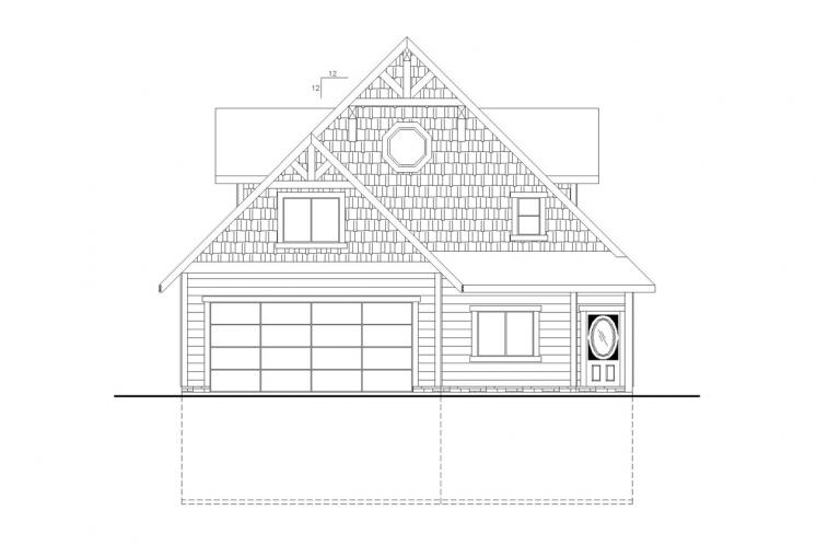 Country House Plan -  63426 - Front Exterior