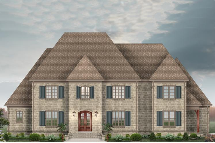 Classic House Plan -  63536 - Front Exterior