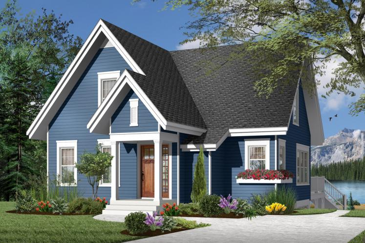Country House Plan - Lilly 64175 - Front Exterior
