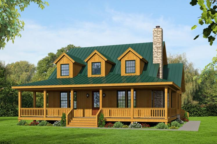 Cottage House Plan -  64548 - Front Exterior
