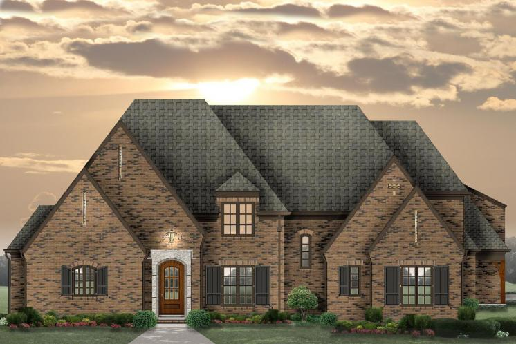 Classic House Plan -  64631 - Front Exterior