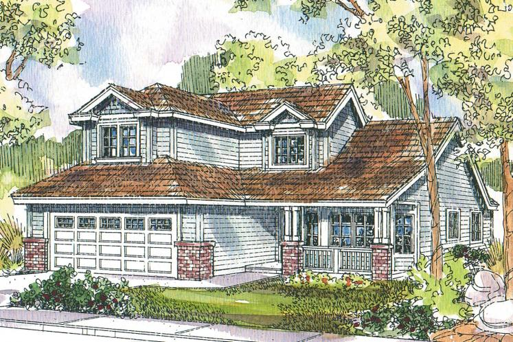 Traditional House Plan - McBride 65309 - Front Exterior