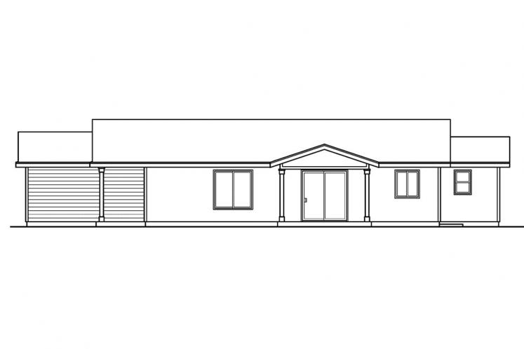 Cottage House Plan - Lindley 66053 - Right Exterior