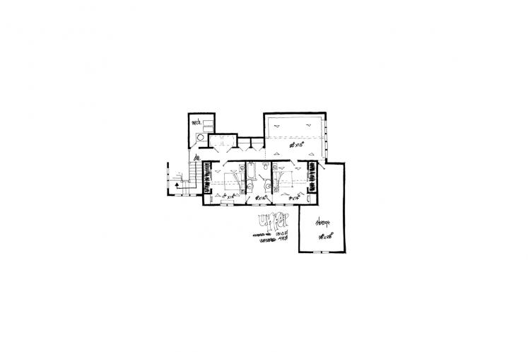 Country House Plan - Castle Hill 66429 - 2nd Floor Plan