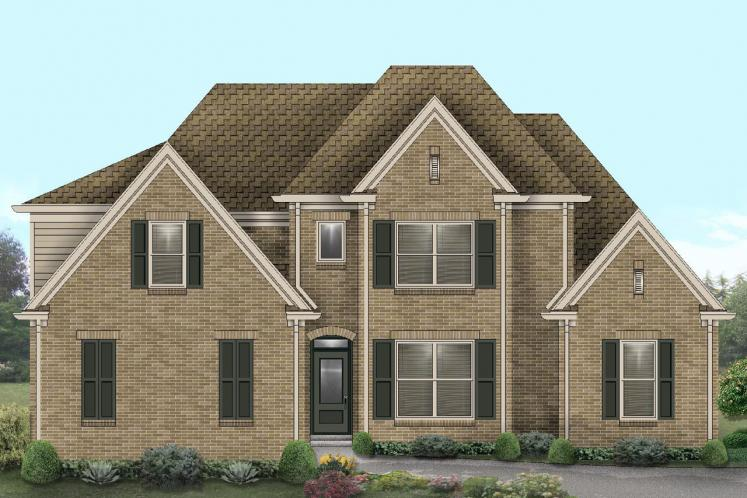 Classic House Plan -  66569 - Front Exterior