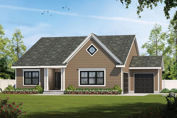 Traditional House Plan - Arienne 67672 - Front Exterior