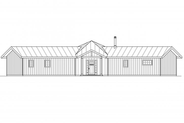 Country House Plan - Alder Creek 67857 - Front Exterior