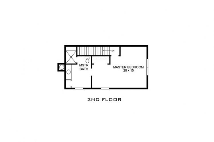 Country House Plan - Lubbock 68032 - 2nd Floor Plan