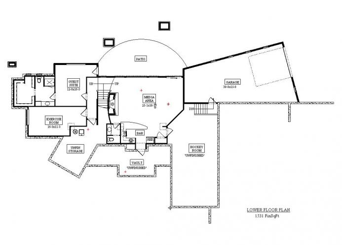 European House Plan - Acula 68040