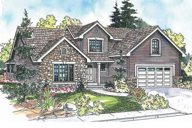 Country House Plan - Radbourne 68364 - Front Exterior