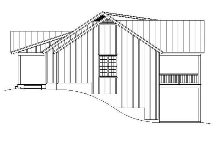Craftsman House Plan - Louisa Point 69208 - Right Exterior