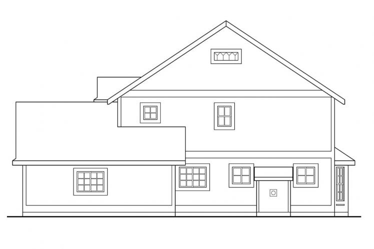 Traditional House Plan - Bristol 69331 - Right Exterior