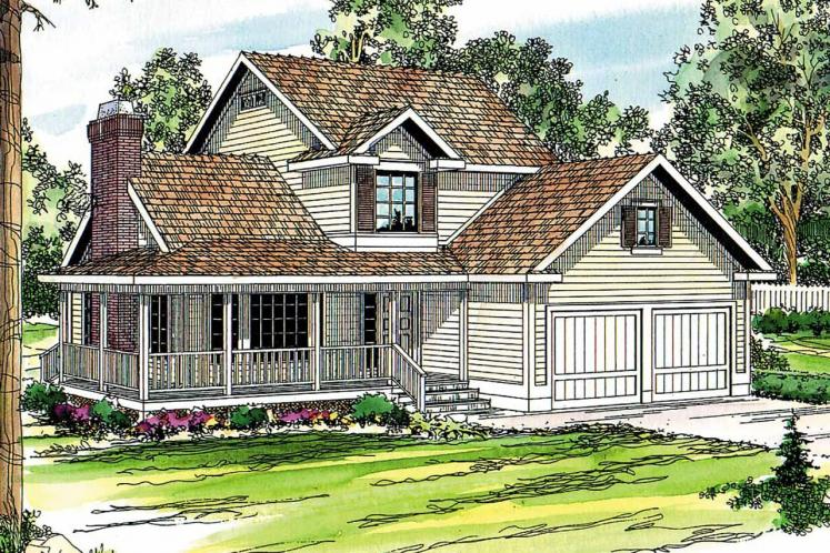 Country House Plan - Bristol 69331 - Front Exterior
