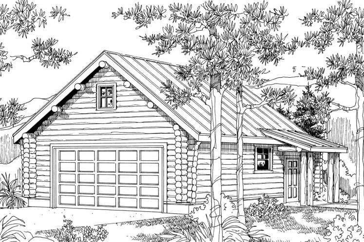 Cottage House Plan - Sylvan 69634 - Front Exterior