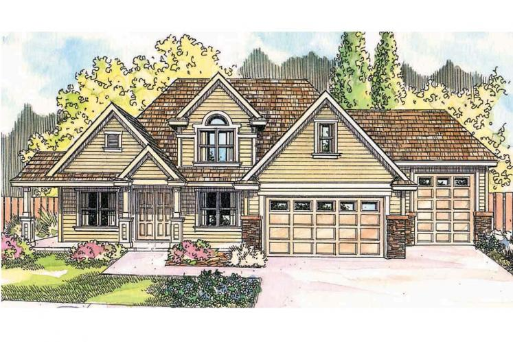 Country House Plan - Claredon 69798 - Front Exterior