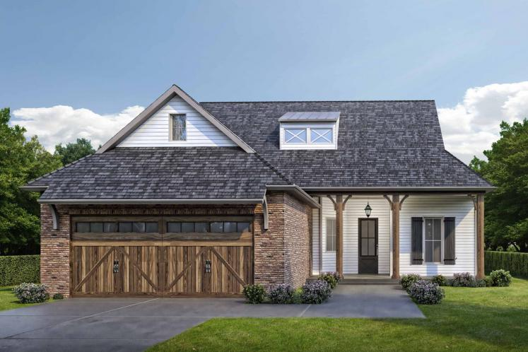 Ranch House Plan -  69863 - Front Exterior