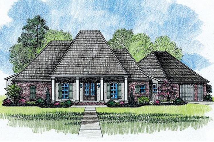 European House Plan - Fairview 69984 - Front Exterior