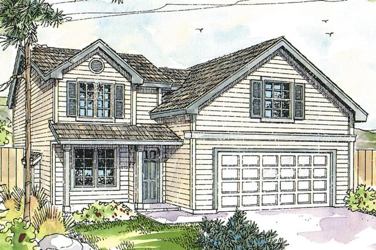 Cottage House Plan - Elkins 70035 - Front Exterior
