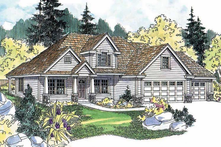 Country House Plan - Whitehaven 70055 - Front Exterior