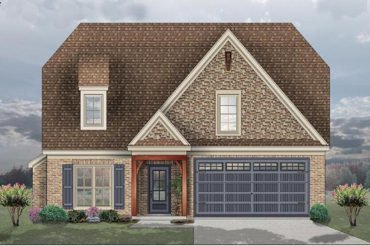 Ranch House Plan -  70696 - Front Exterior