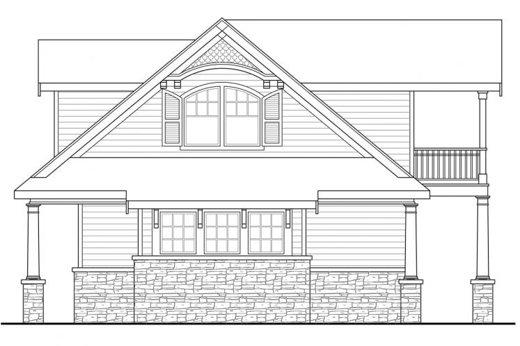 Country House Plan - Nottingham 70768 - Right Exterior