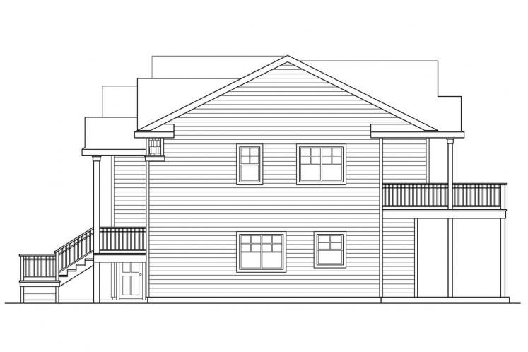 Cottage House Plan - Snowberry 71176 - Right Exterior