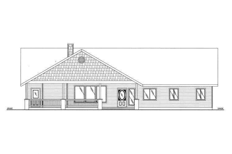 Cottage House Plan -  71439 - Front Exterior